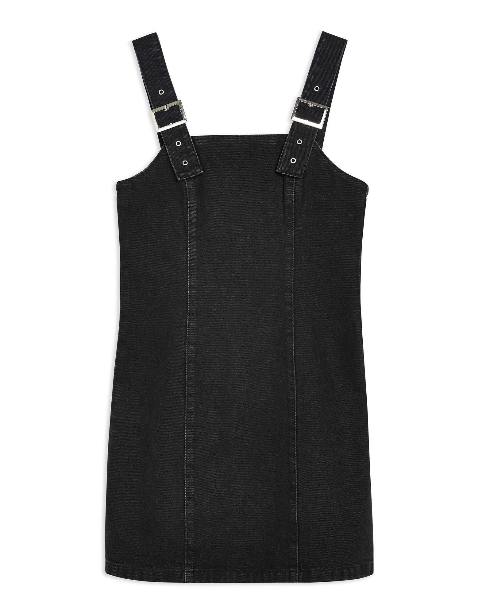 Vestito Corto Topshop Buckle Strap Denim Dress - damen - 54166992KN