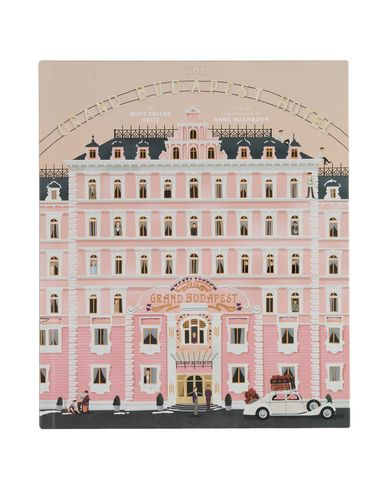 Abrams Books Wes Anderson The Grand Budapest Hotel Fotografie