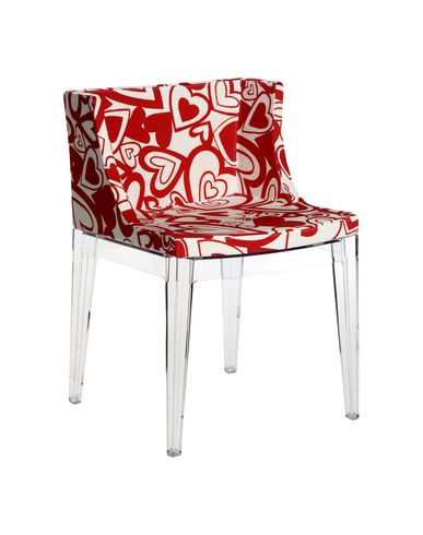 Kartell chair living kartell online on yoox - Chaise mademoiselle starck ...