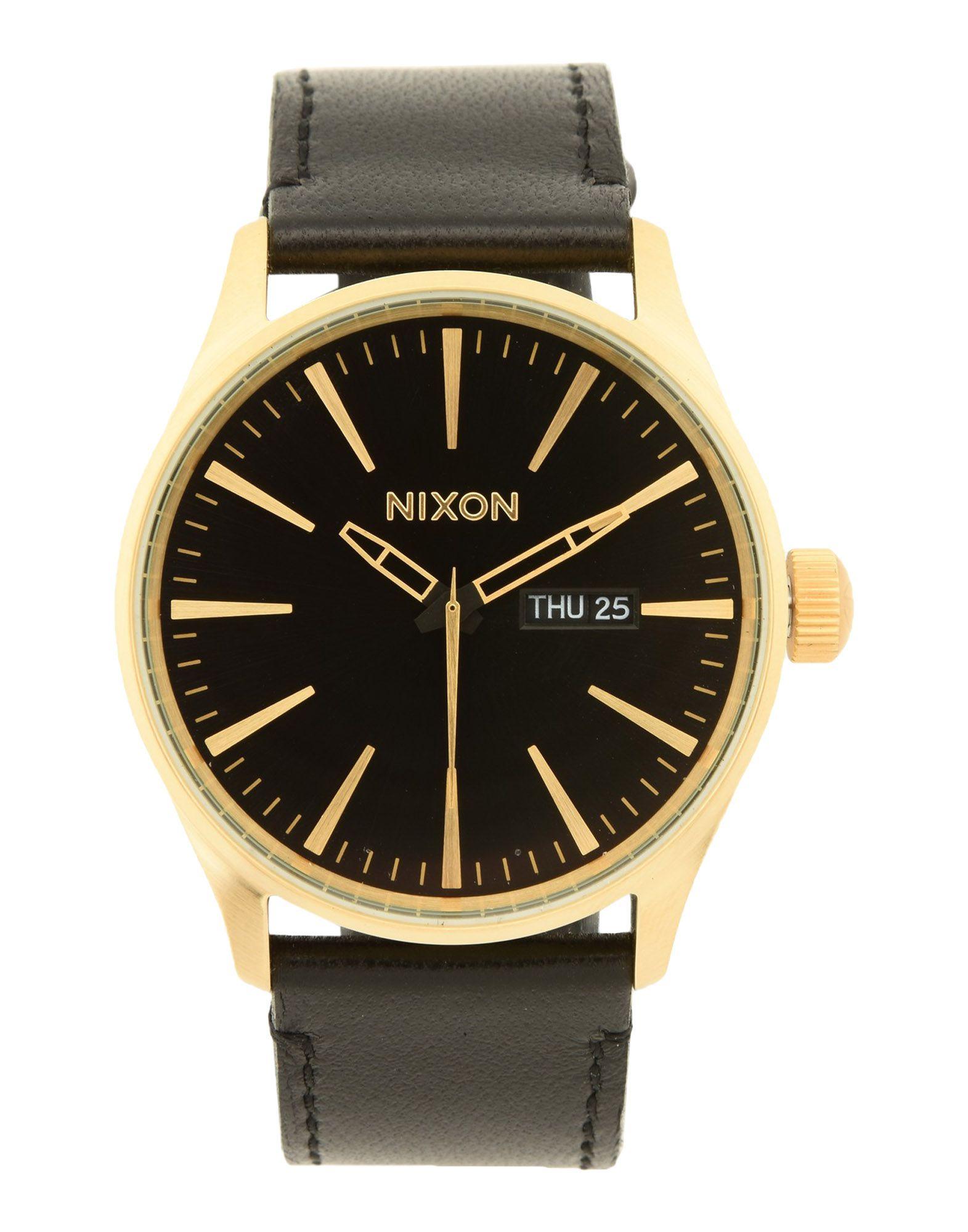 Orologio Da Polso Nixon A105 Sentry Leather - Uomo - Acquista online su
