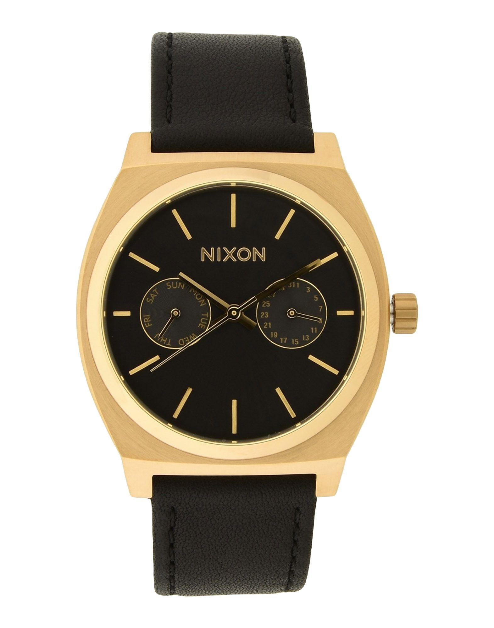 Orologio Da Polso Nixon A927 Time Teller Deluxe Leather - Uomo - Acquista online su