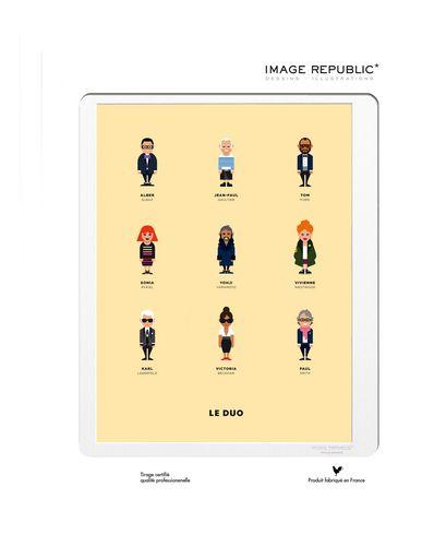 IMAGE REPUBLIC - Wanddekorationen