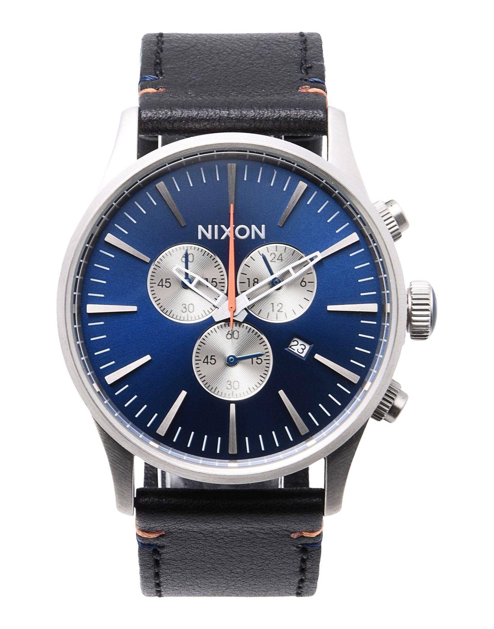 Orologio Da Polso Nixon A405 Sentry Chrono Leather - Uomo - Acquista online su