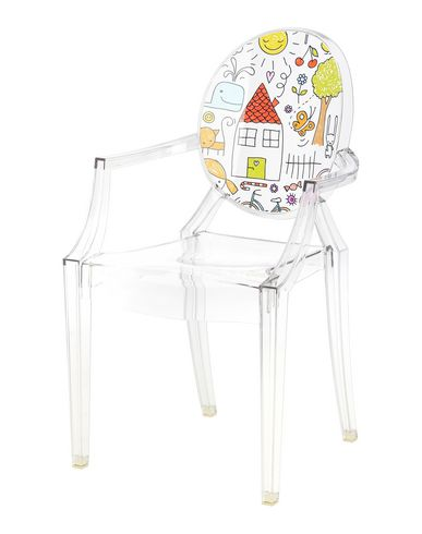 Kartell Lou Lou Ghost Kids - Chair - DESIGN+ART Kartell online on ...