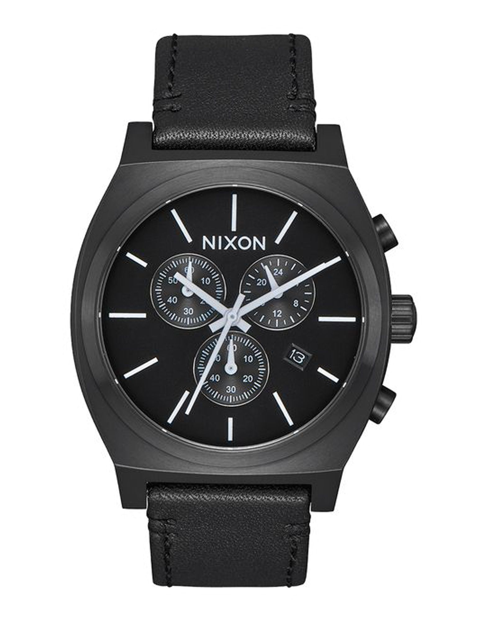 Orologio Da Polso Nixon A1164 Time Teller Chrono Leather - Uomo - Acquista online su