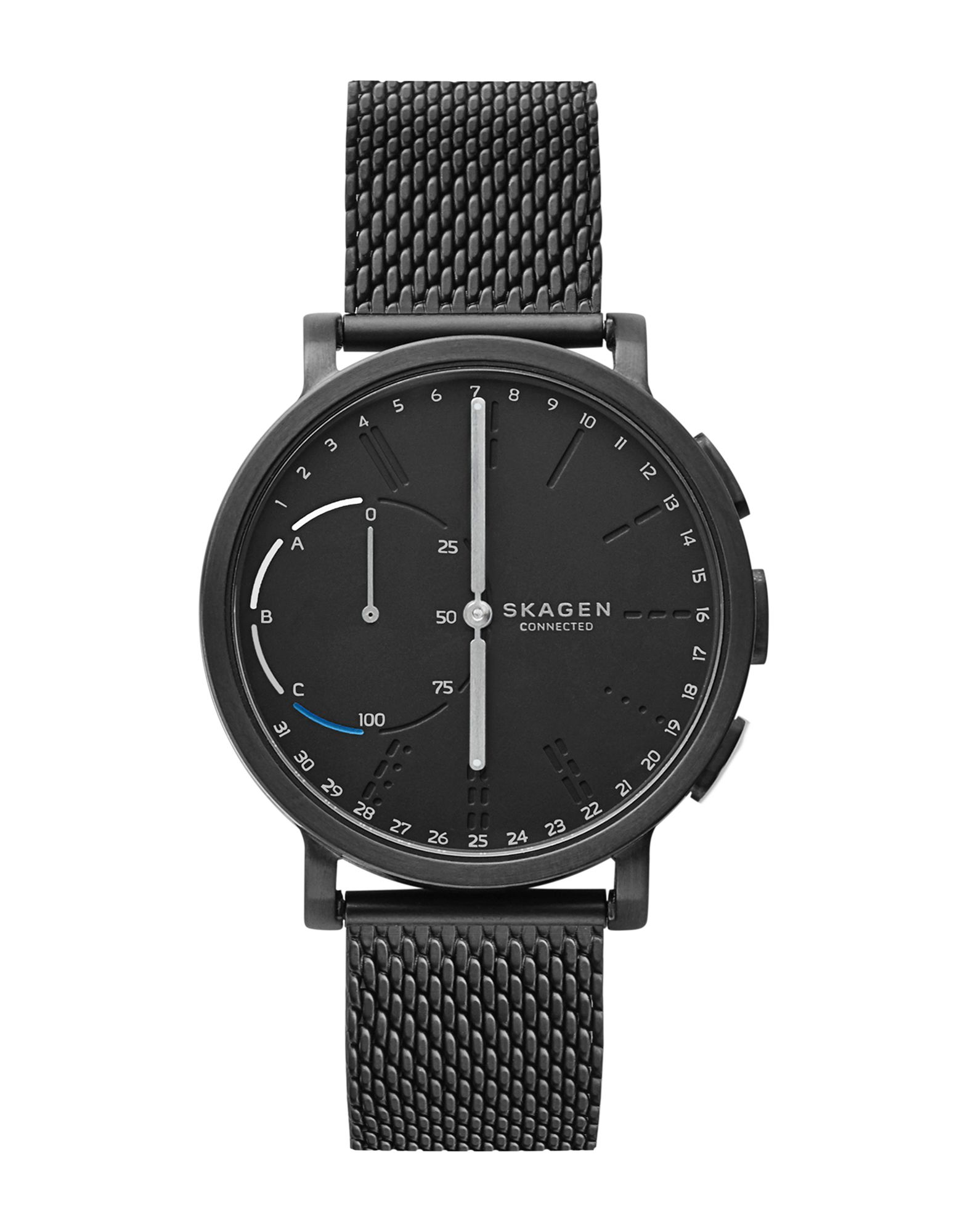watches with product hagen dial for women ethos watch blue large skagen