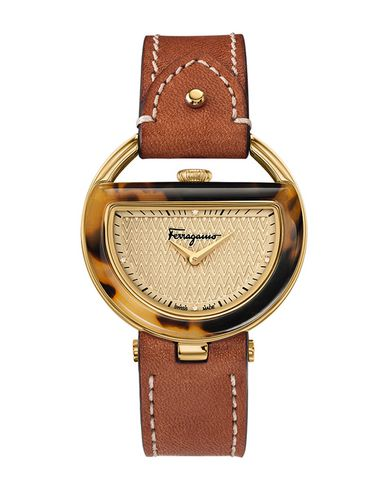 Salvatore Ferragamo Salvatore Ferragamo Buckle - Wrist Watch - Women  Salvatore Ferragamo Wrist Watches online on YOOX United States - 58035744RT