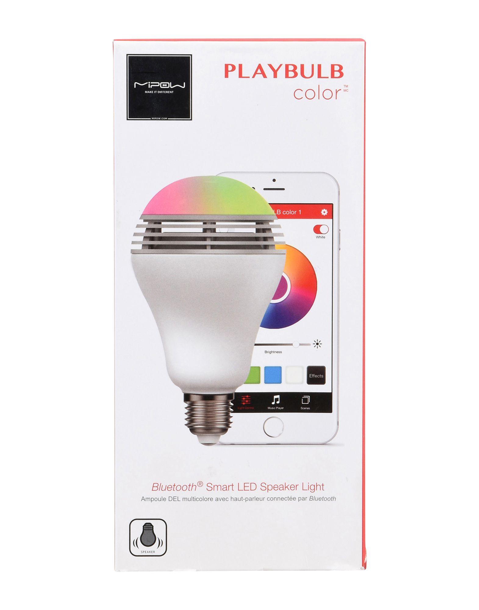 Accessorio Hi-Tech Mipow Bluetooth 4.0 Device,Rgb Color Light Bulb With Bluetooth Speaker And App Control - Uomo - Acquista online su