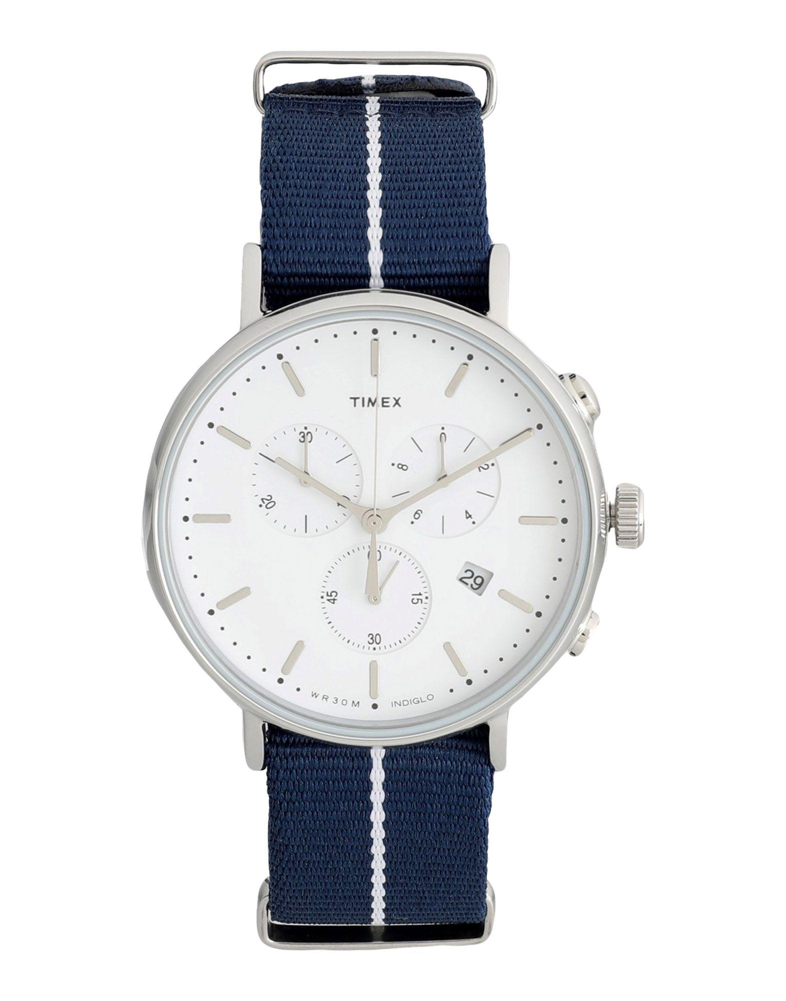 Orologio Da Polso Timex Tw2r27000 Fairfield Chronograph - Uomo - Acquista online su