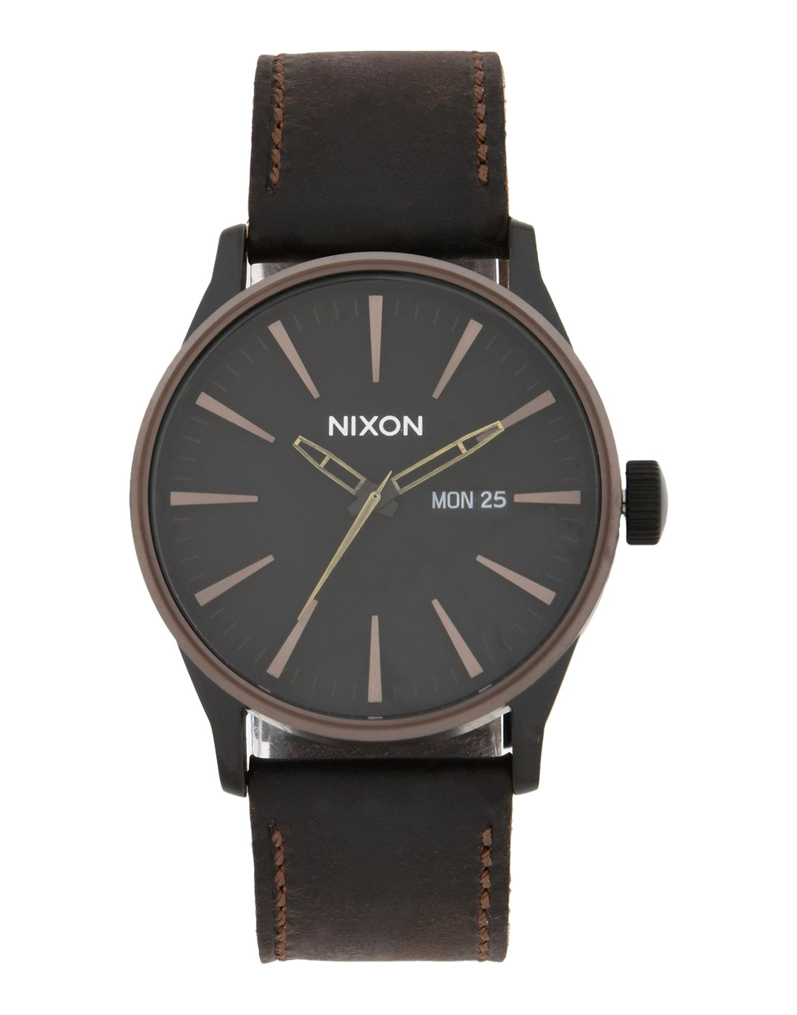 Orologio Da Polso Nixon A105 Sentry Leather - Uomo - Acquista online su