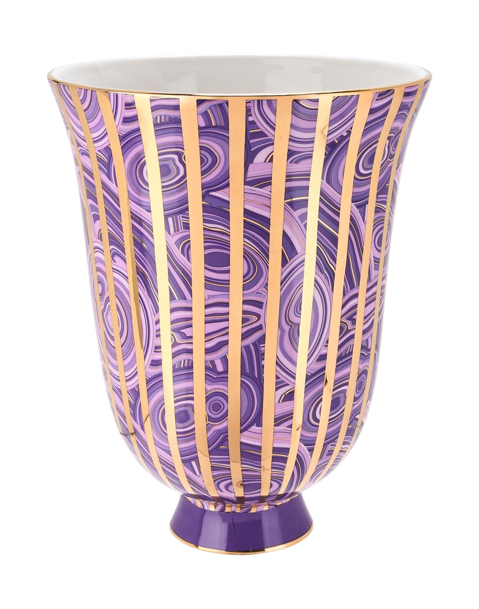 Fra mega Jonathan Adler Malachite Stripe - Vase - DESIGN+ART Jonathan Adler EV-92