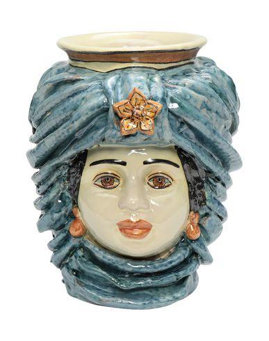 Ceramiche Alessi Turbante Blu Vase Designart Ceramiche Alessi