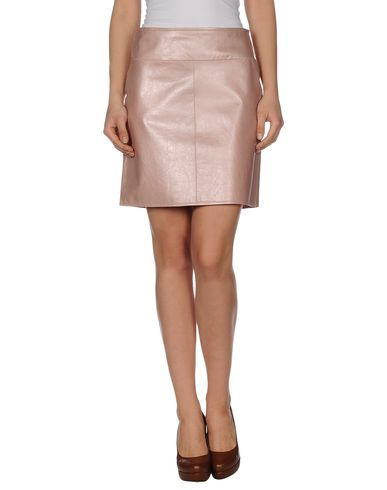 MARC CAIN - Leather skirt